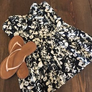 Forever 21 strapless floral top Size Medium
